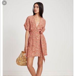 Faithfull St Lucia Dress - Blossom pink print